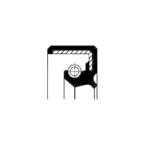 Corteco 12014826B Anillo retención, mecanismo dirección