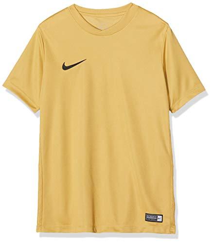 Nike Kinder Park Vi Trikot T-shirt, 725984-738 ,Braun (Jersey Gold / Negro), L