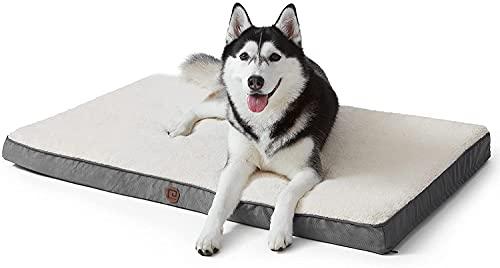 EHEYCIGA Cama Perro Ortopédica Grandes/medianos/pequeños, colchón de Escalera con Funda extraíble y Lavable