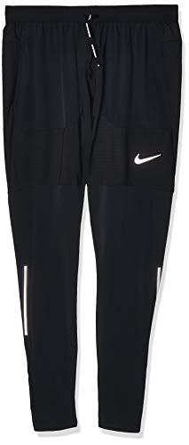 Nike Herren Phenom Elite Hyb Hose, Black/Reflective Silv, S