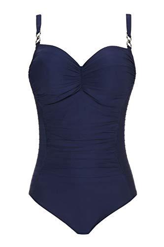 Prima Donna, Figurformender Badeanzug mit Bügel ungefüttert, Sherry 4000230 (80G, Saphir)