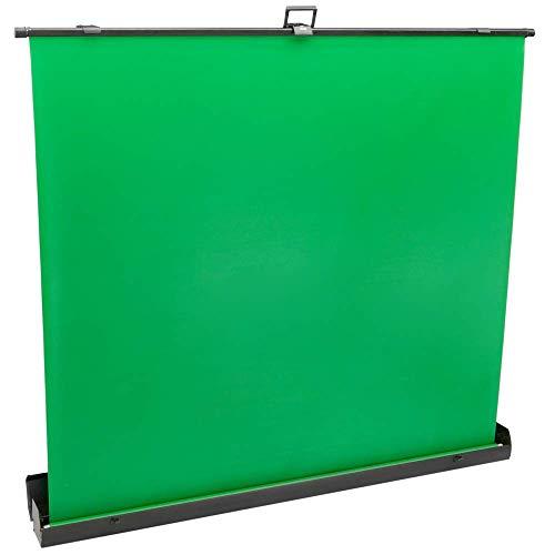 PrimeMatik - Pannello Chroma Key Pieghevole. Sfondo Verde per Fotografia e Video 170x200cm