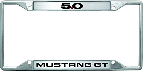 Eurosport Daytona- Compatible with -, Ford Mustang GT 5.0 License Plate Frame
