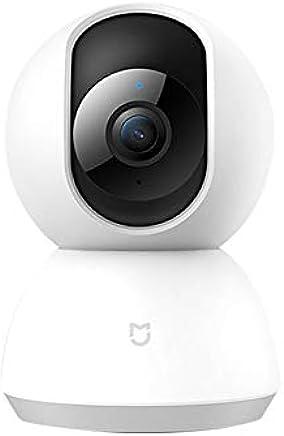 Xiaomi Cámara Domo HD 1080P Sistema de cámaras IP de seguridad para vigilancia de seguridad inalámbrica con Motion Tracker, alerta de actividad, visión nocturna, iOS Android