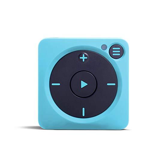 Mighty Vibe, der Spotify und Amazon Music Player, aufklippbarer digitaler MP3-Player mit Bluetooth und WLAN, Streaming-Gerät. Sie brauchen Ihr Handy Nicht - Gully Blau