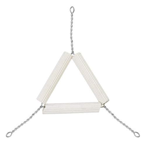 ULTECHNOVO Crucible Triangle with Clay Pipe Stems - Laboratory Clay Triangle Holder 10Pcs