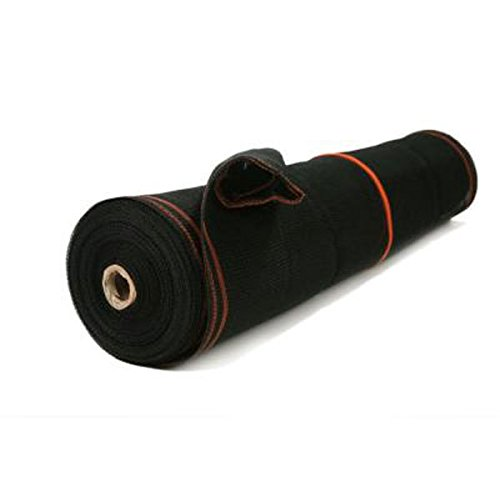RK Heavy Duty Black Scaffold Debris Netting, Fire retardant 8' x 150'