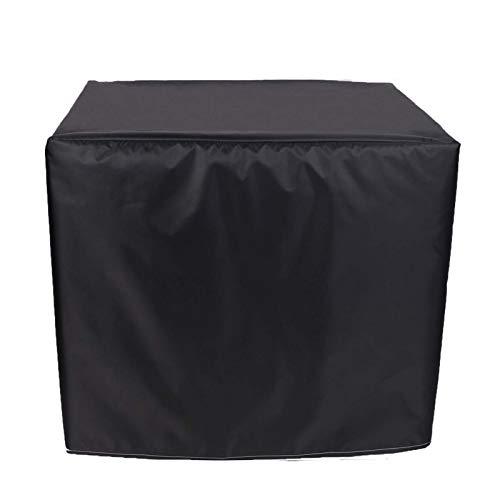 WZDD 250x200x80cm Funda para Mesa De Jardin Impermeable Rectangular, Cubierta De Muebles De Exterior, Cubierta De Mesa Patio, Funda para Muebles De Jardin RectáNgulo, Negro