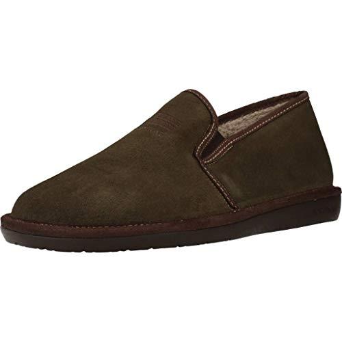 Zapatillas de Estar por casa de Hombre, Color Verde (Kaki), Marca NORDIKAS,...