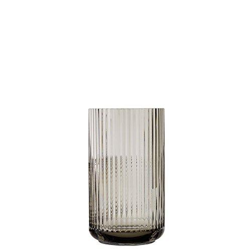 Lyngby Porcelæn Designer Lyngbyvase H20,5 cm, Smoke, Mundgeblasenes Glas