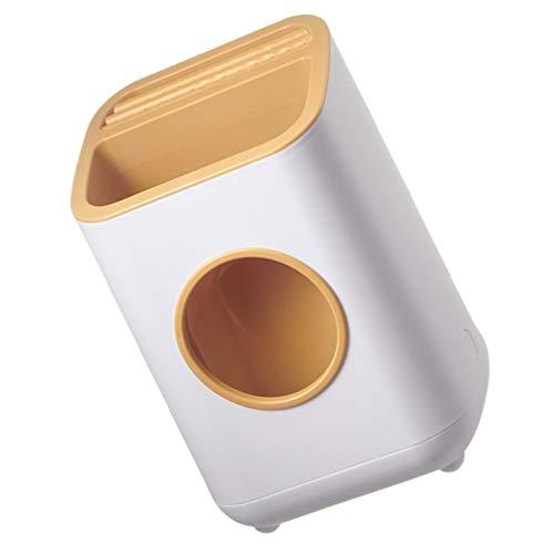 Cabilock Baguettes Caddy de Séchage Ustensile de Cuisine Conteneur de Rangement Couverts en Plastique Porte-Couverts Rack Organisateur D'ustensiles Caddy Bin pour Comptoir de Cuisine à
