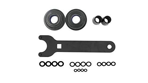 Front Mount Hydraulic Cylinder Seal Kit HS5157 compatible with seastar, fit for HC5340, HC5341-HC5348 HC5358 HC5365 HC5375 HC5394 HC5445 HC6750-HC6755