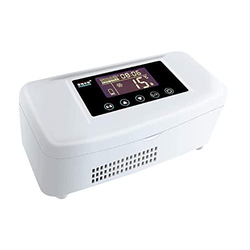 Refrigerador pequeño,refrigerado porinsulina Boxeel Refrigerado por hormonas de Crecimiento Medicina de Carga a Temperatura Constante Mini refrigerador