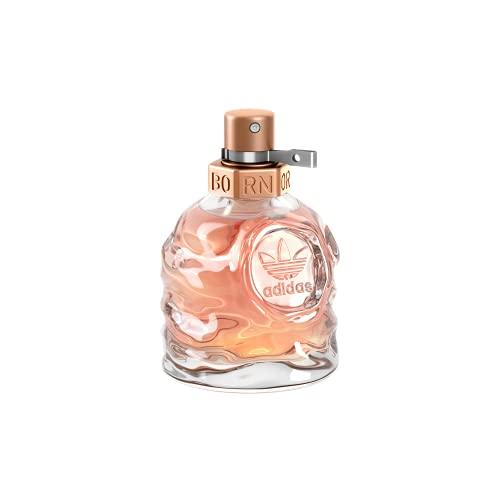 adidas Born Original Eau de Parfum - Fruchtig-blumiges Damen Parfüm mit explosivem Mix aus kontrastierenden Düften - 1 x 30 ml