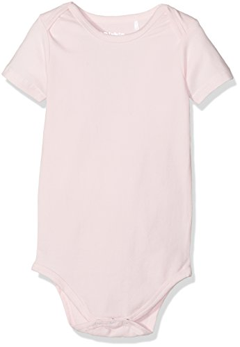 Dirkje Body Short Sleeves, Barboteuse Bébé Fille, Rose (Light Pink), 62/68 cm