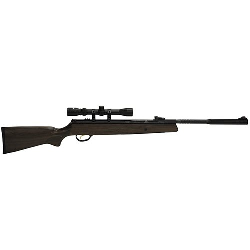 "Hatsan HC9522VORTQE 95 Vortex Quiet Energy Break Barrel Air Rifle.22 Caliber, 17.70"" Barrel, Single Shot, Walnut Stock/Black Withx 40mm 3-9X32Mm"