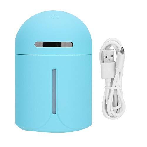 Qiilu elektrische aromatherapie-luchtbevochtiger, mini-luchtreiniger geurverspreider voor auto kantoor desktop (blauw)
