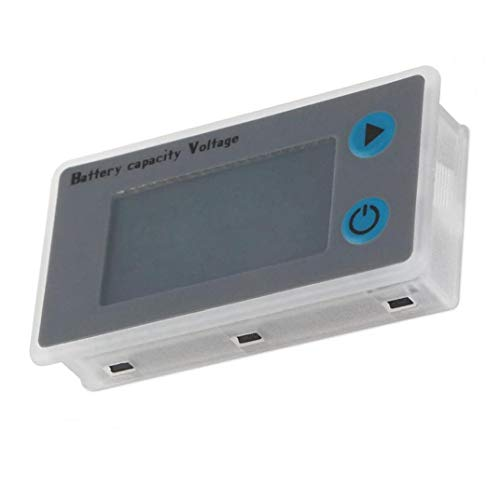 Batterietester Kapazität Spannung Checker Digital Meter JS-C33 12V für Lithium-Eisen-Blei-Säure-NiMH-Batterien Industriemultimeter