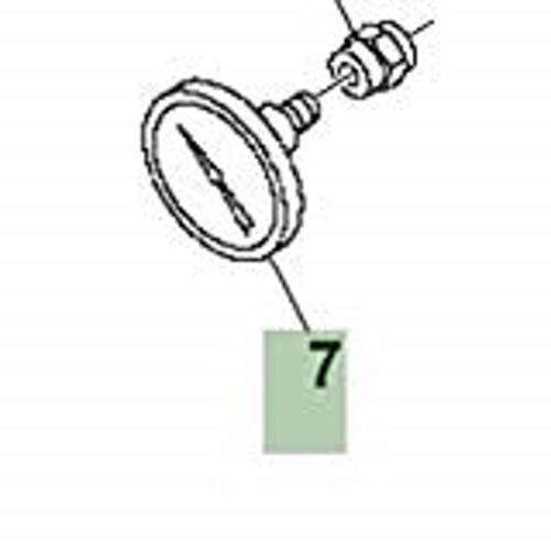 John Deere Original Equipment Pressure Gauge #AE48078