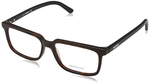 Diesel Brille Dl5067 056 54 Monturas de gafas, Marrón (Braun), 54.0 para Hombre