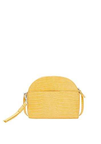 s.Oliver (Bags) Umhängetasche, Borsa a Cartella Donna, 1470 Yellow, 1