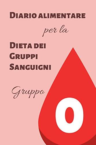 Diario Alimentare per la Dieta dei Gruppi Sanguigni - Gruppo 0