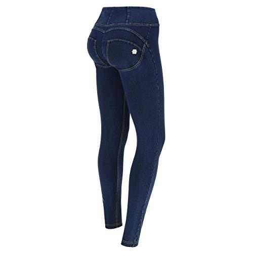 Freddy Damen Wrup1hj01e, Blau (Jeans Scuro/Cuciture Gialle J0Y), 34 (Herstellergröße: Small)
