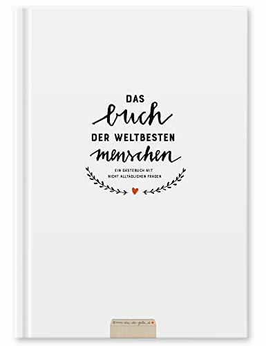 Witziges Gästebuch mit Fragen zum Ausfüllen, Freundebuch für Erwachsene, Hochzeitsgästebuch zum...