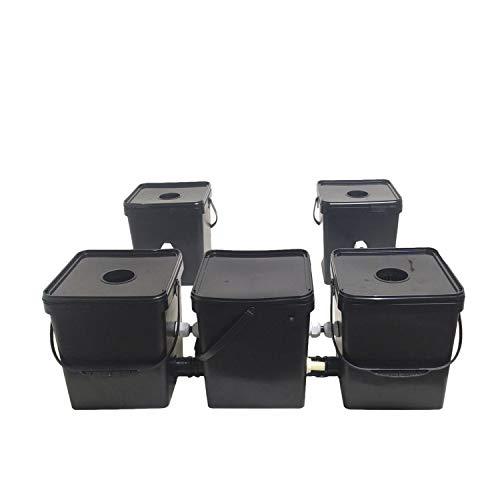 handmade 4 Pot Hydroponics RDWC Recirculating Ultra Quiet ROOTNGN MAXFLOW HIGH YIELDS