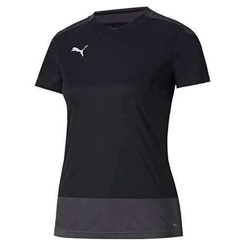 PUMA Damen teamGOAL 23 Training Jersey W T-Shirt, Black-Asphalt, XXL