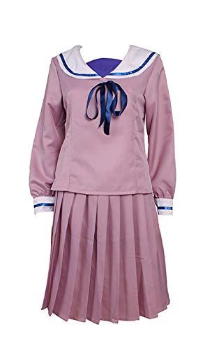 Mtxc Women's Noragami Cosplay Costume Iki Hiyori Junior High School Uniform Size Medium Pink
