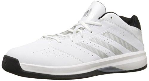 adidas Performance Men's Isolation 2 Low Basketball Shoe,White/...