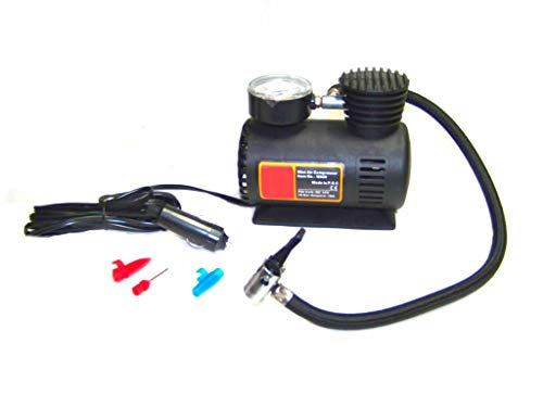 (Best tools) 12 V Mini Air Compressor Air Tire Inflator Tool 12 volt Car Bike 300psi