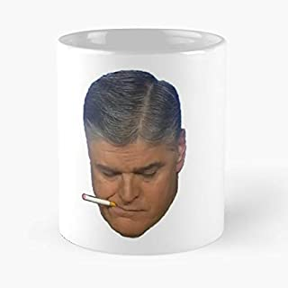 Sean Hannity - Make America Vape Again Njoy Classic Mug The Funny Coffee Mugs For Halloween, Holiday, Christmas Party Decoration 11 Ounce White Cettire.