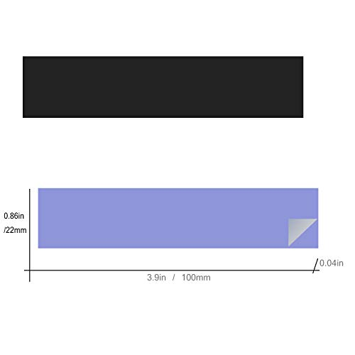 『NVMeヒートシンクM.2ヒートシンク22110 M.2用22 x 100mm冷却』の3枚目の画像