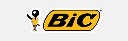 BIC CSM241BLK Clic Stic Pen, Medium Point, 24/CT, Black Ink/White Barrel Photo #3