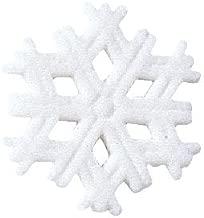 Snowflake Winter Christmas Sugar Decorations Cookie Cupcake Cake 12 Count