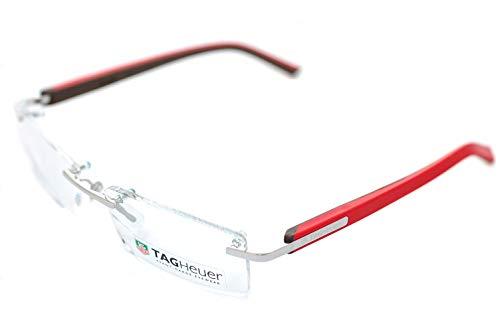 TAG HEUER Brillengestelle TH-8109 Rechteckig Brillengestelle 56, Mehrfarbig