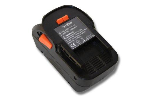 vhbw Batería reemplaza Würth 0700956530 para herramientas eléctricas (1500mAh Li-Ion 18V)