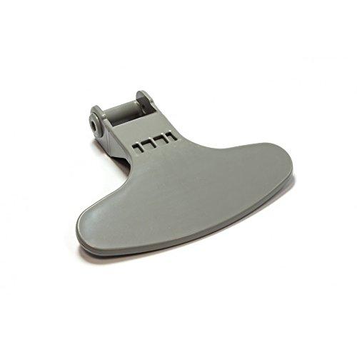 Maniglia per porta, Maniglia per oblò in grigio adatto per BEKO Grundig lavatrice–N.: 2821580200