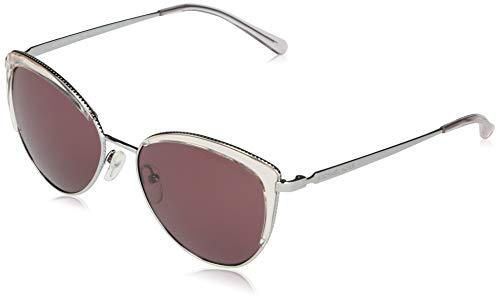 Michael Kors Damen 0MK1046 Sonnenbrille, Silver, 56