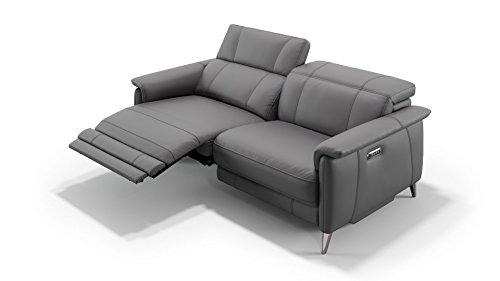 Designer Sofa Ledersofa Ledercouch Couch Sofagarnitur 2er Ledergarnitur