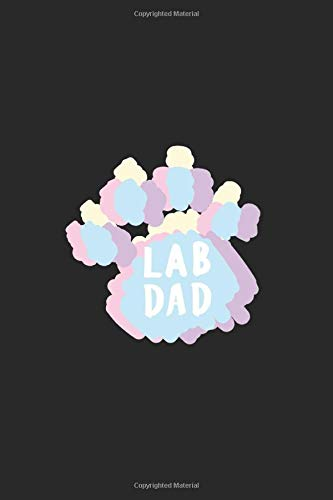Lab Dad: Job notebook 120 pages graph paper