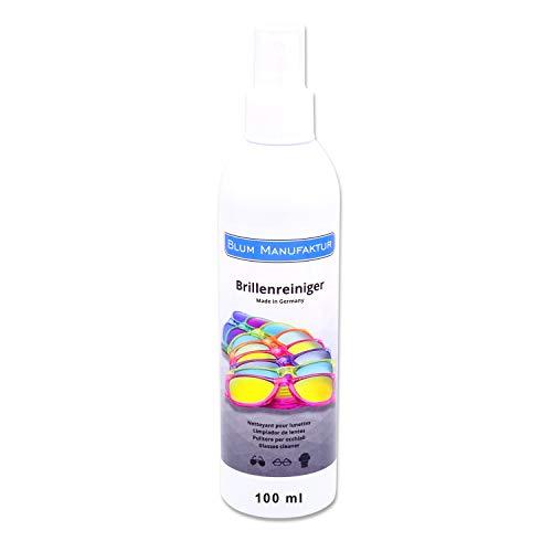 Blum - 100ml Brillenreiniger Brillenspray. Qualitativ hochwertiges Reinigungsspray für eine schnelle und gründliche Reinigung.
