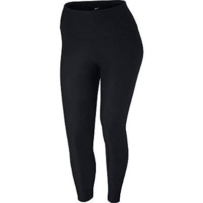 Nike Women's Plus Stretch Dri-Fit Athletic Leggings, Black, 3XL