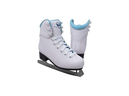 Glacier Jackson Ultima GS180 SoftSkate Damen Schlittschuhe, Blau, Fleece, Pink, Violett, blau, Toddler 8
