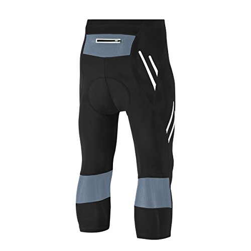 INVACHI 3/4 Tight Herren Radlerhose Professionelle Sporthose mit Gelpolster Outdoor Radsport - 2
