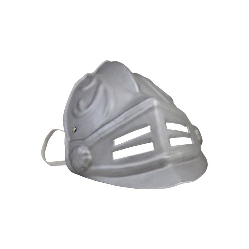 BestSaller 1732 Soft Line Ritter Gladiator Maske Silber, silber (1 Stück)