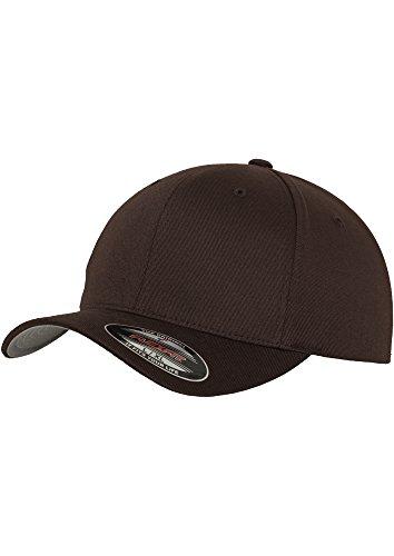 Flexfit Erwachsene Mütze Wooly Combed Large / X-Large,Braun