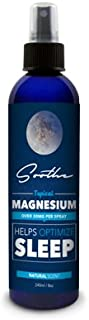 Soothe Magnesium, 100% Pure Magnesium Spray, Joint and Muscle Pain, Leg Cramps, Soothes Restless Legs, GMO Free, Made in USA, 8oz
